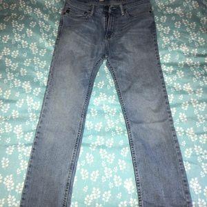 A&F kids boys jeans 15/16 slim